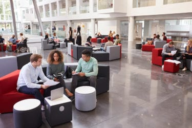 effective research space, collaboration, research buildings