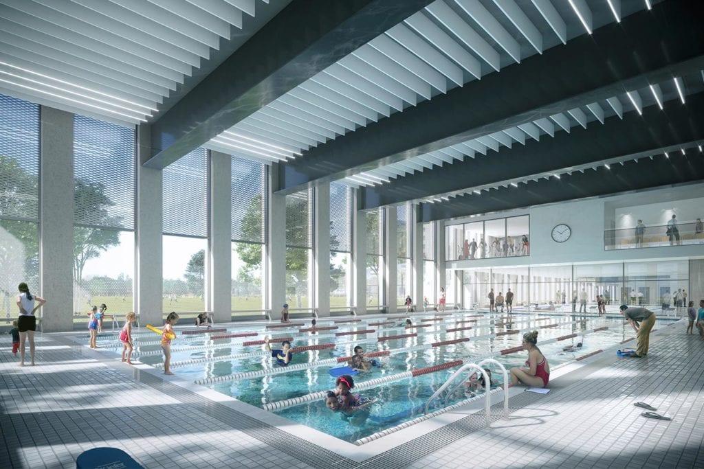 Britannia Leisure Centre  in London