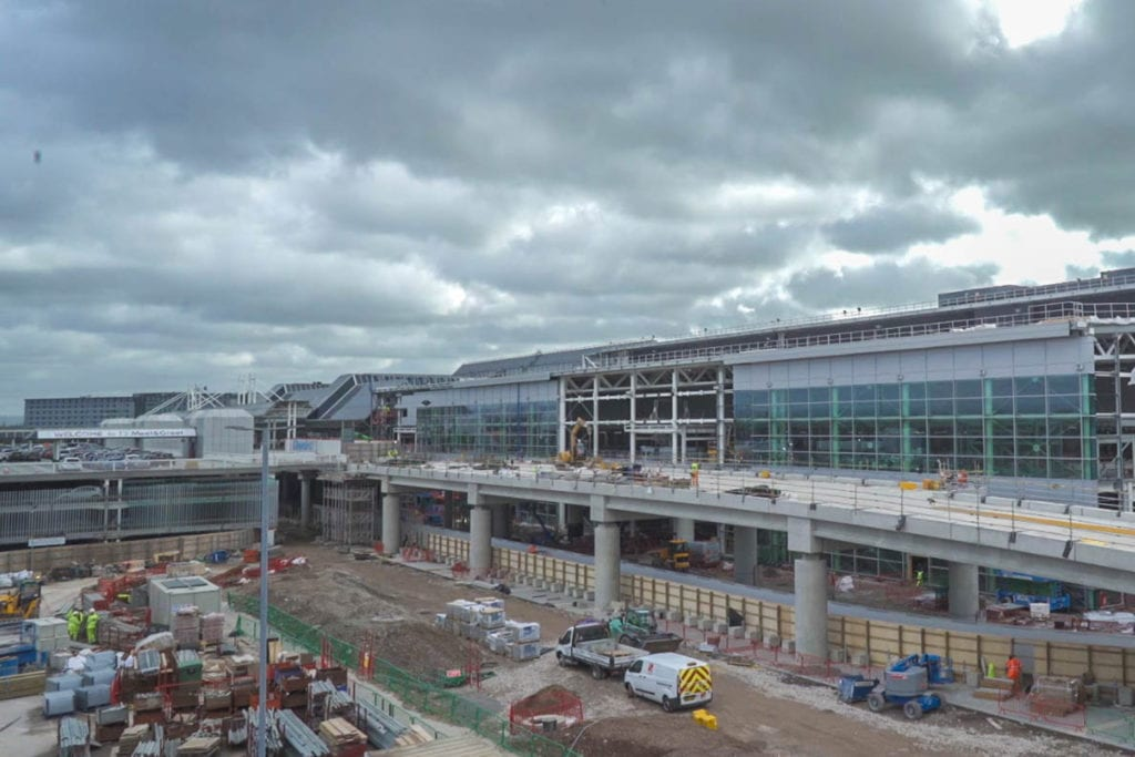 manchester airport transformation project terminal 2