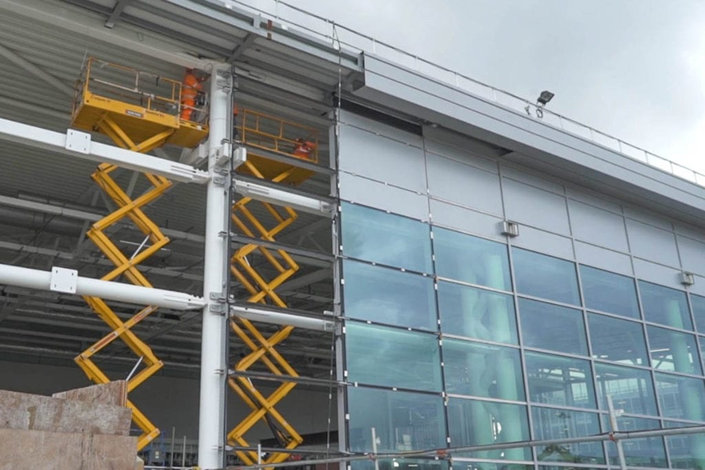 manchester airport expansion project