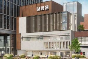 Exterior view of BBC concert studio Maida Vale