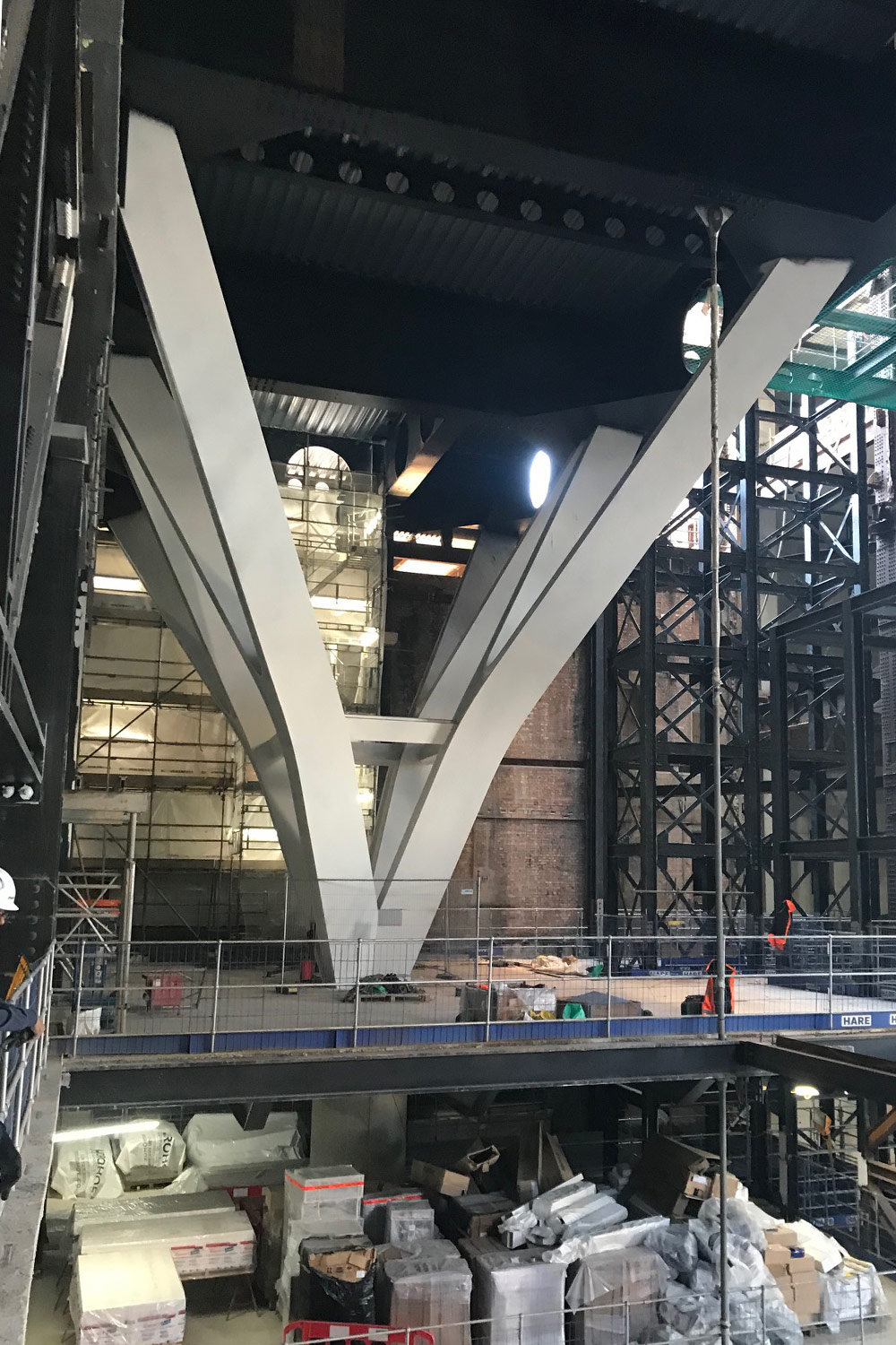battersea power station refurbishment project