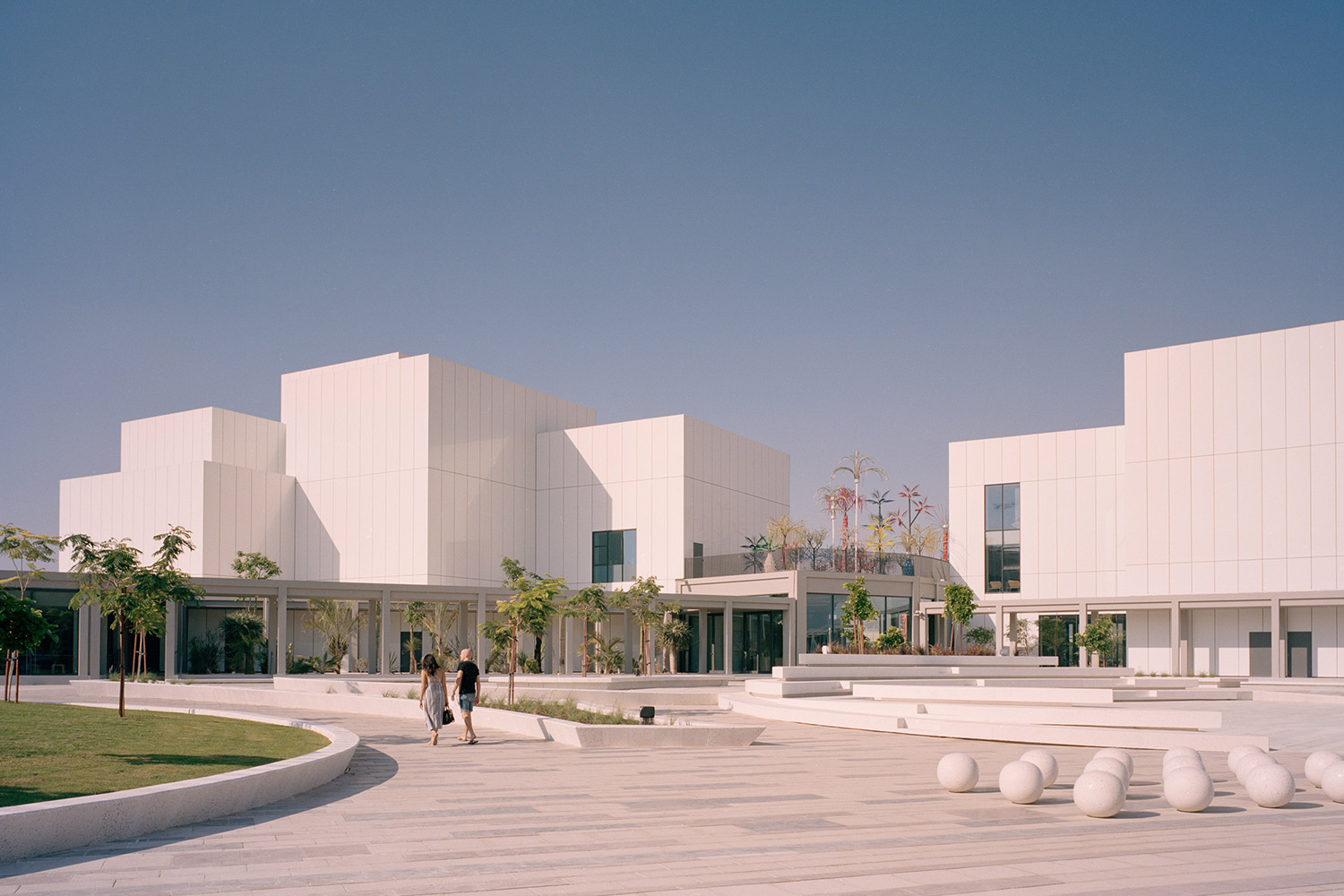 Exterior view of Jameel Arts Centre