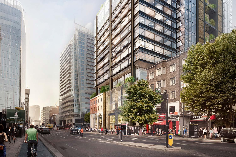 aldgate east commercial office space london whitechapel