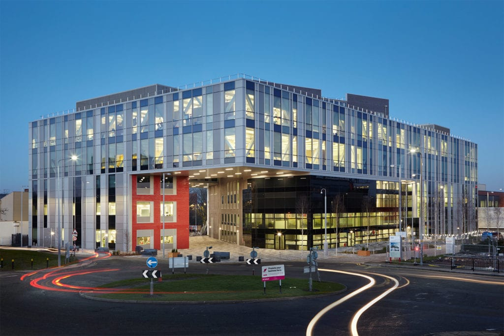 External view of the new Adelphi Building