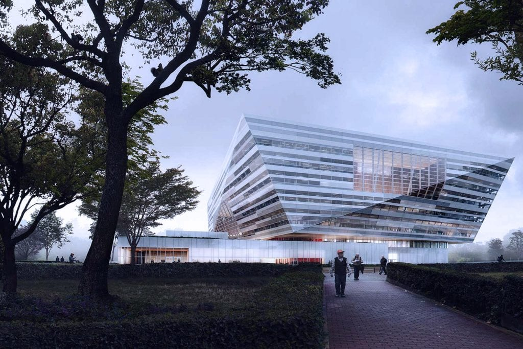 new shanghai library renders