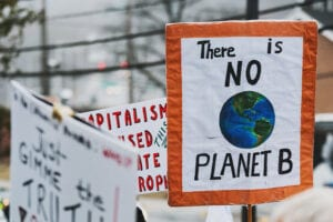 no planet b climate action