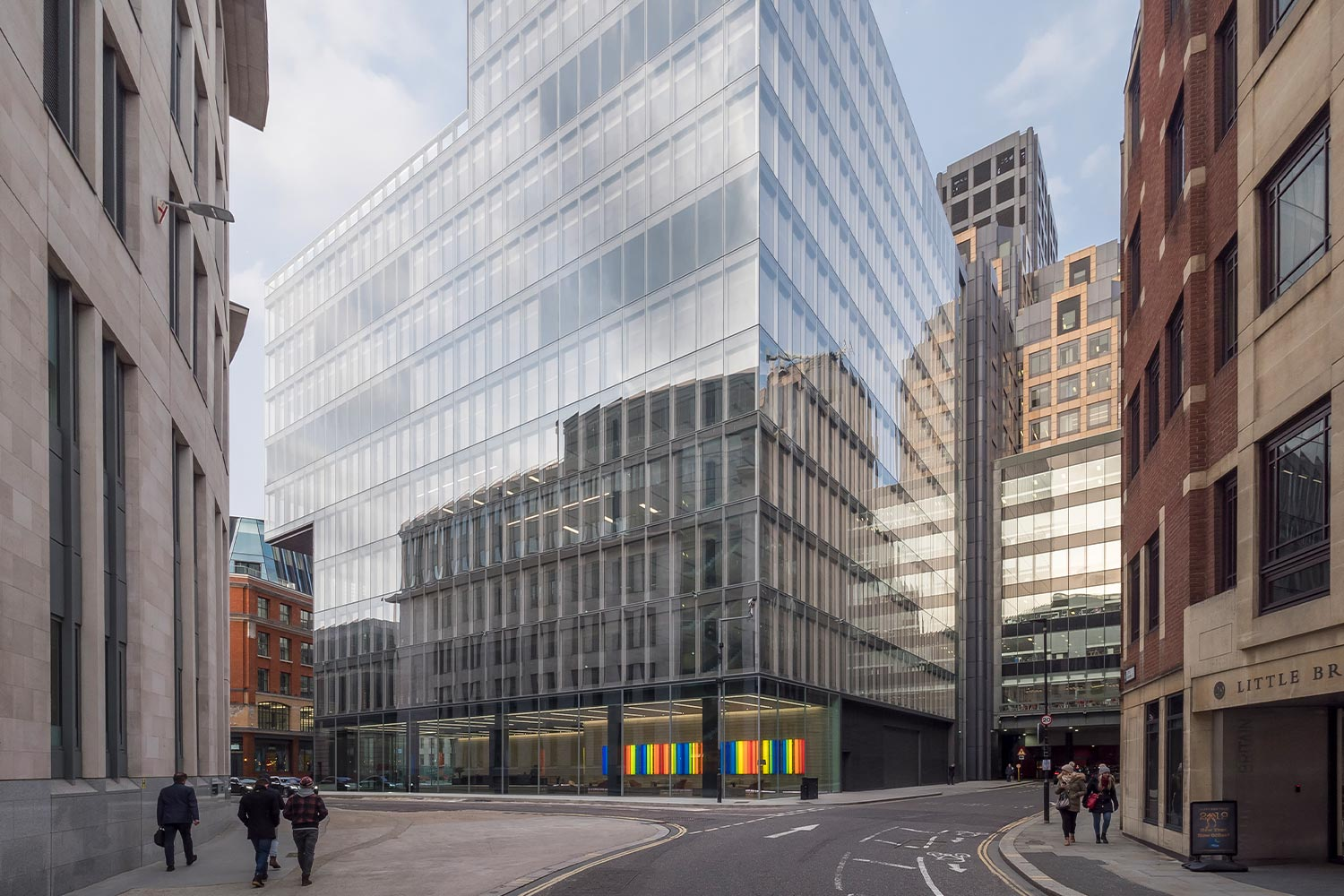 one bartholomew close a mixed use commercial development in London