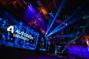 Autodesk University 2020 Stage